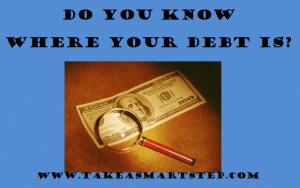 how to find my debt