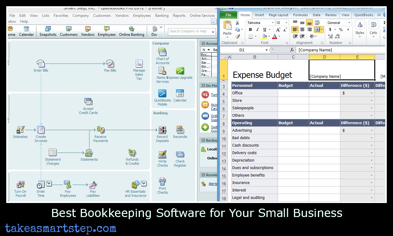 easy ways to track small business expenses and income