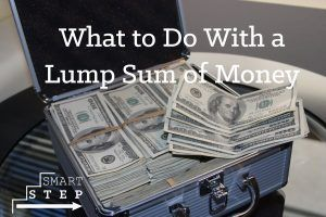 lump sum of money